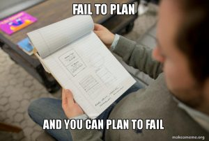 If you fail to plan your marketing, you can plan to fail