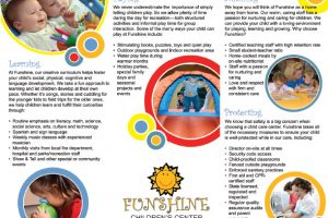 Funshine Children's Center – Marketing Plan and Corporate Brochure