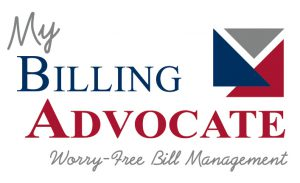 My Billing Advocate Logo with tagline