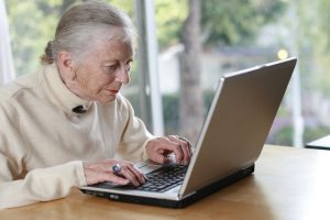 Blogging is so easy, your grandmother could do it.